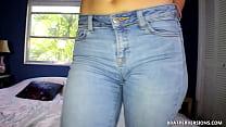 Cum on my Jeans JOI