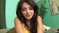hot exotic beauty Andrea Kelly giving a deepthr...