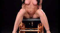 Starri Knight rides pleasure glider