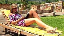 PARADISE FILMS Peaches having fun under the sun