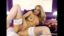 Webcam Blonde Milf Dildoing Her Pussy - www.cha...