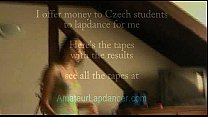 ! me for just lapdances student czech yo 19