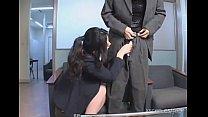 Chinami Sakai japanese secretary gives a hot blowjob porn videos