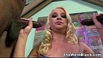 blonde slut kristen jordan rough fucked by black cocks