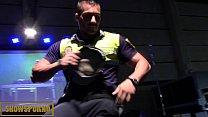 Cop stripper shows dick thumbnail