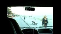 Follando con putas en la carretera