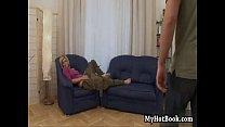 Klarisa Leones MO is to lounge around her living