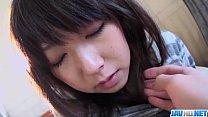 Harsh pussy penetration for Reina Japanese teen porn videos