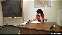Horny Teacher Hanjob