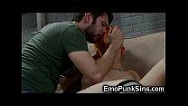 Punk Teen Got a Rough Punishment!