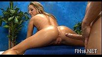 Видео эротического массажа с маслом