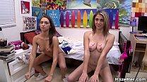 Lesbian Roommates Experiment porn videos