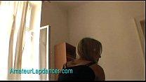 Sexy teen Lenka - lapdance in fishnet stockings porn videos