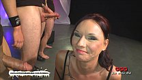 Tatttoed MILF gets her daily sperm dose before ...