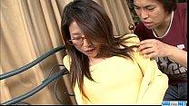 tai phim sex -xem phim sex Mizuki Ogawa girl with glasses gets threesome sex