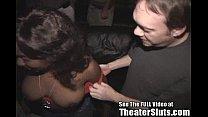 Hot Busty Black Girl Getting Covered In Strange...