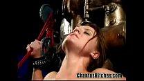 BDSM in a Machine Room!