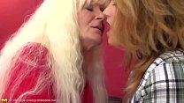 gi... lesbian sweet young fucks granny lesbian Old