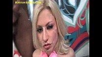 Black Bukkake For Sexy Blonde