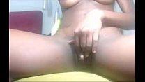 18yo Ebony Rubbing Huge Clit - P