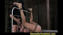 2 bondage hard suffers girl Midwestern