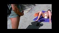 Teasing a stranger in the dunes of Maspalomas thumbnail