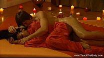 Порно видео принуждение на массаже