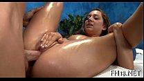 Oil massage sex porn videos