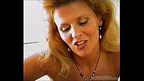 Blonde MILF blowjob POV