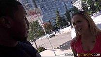 Hollie Mack's first interracial scene porn videos