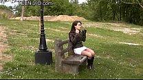 teen Sarah upskirt porn videos
