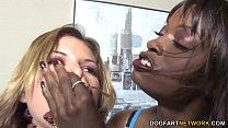 monique and livingston leah with sex punishment Lesbian