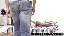 NubileFilms - Trembeling Orgasm On Her Step Brothers Cock porn videos