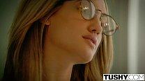 TUSHY Chloe Amour Tries Double Penetration porn videos