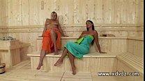 Zafira Klass Makes Sauna Day Amazing When She S...