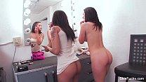 Skin Diamond Makeup Room Threesome porn videos