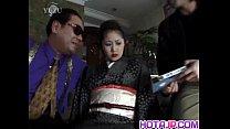 Miho Aikawa gets vibrator in hairy vagina porn videos