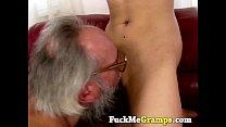 grandpa gets really lucky