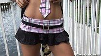stranger by creampied gets schoolgirl skinny schoolgirl
