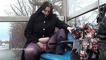 Emmas bbw flashing and amateur public nudity of...