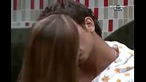 bbb - beijando se cacau e Elieser
