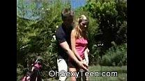 XXX Amateur teen blonde Sucking At Golf Videos Sex 3Gp Mp4