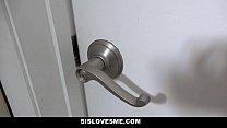 Sislovesme - Shower Time Turns Into Step-Sis Fucking thumbnail