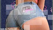 18yo Missy masturbating in skinny jeans