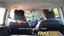 Fake Driving School Nerdy ginger teen fucked to creampie orgasm porn videos
