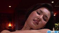 Maria Ozawa receives pleasure down her hairy lo...