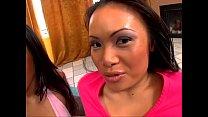 Mya Luanna and Loni have lesbian training