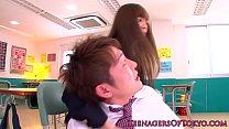 Japanese schoolgirl face sprayed porn videos