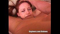 Redhead Cock Sucking Teen Bitch Drools