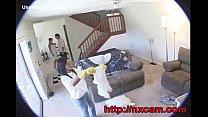 affair lesbian secret in wife and maid captures cam Hidden